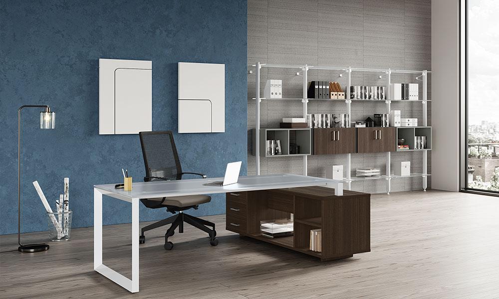 Mobili Stratos Plus per ufficio operativo e direzionale